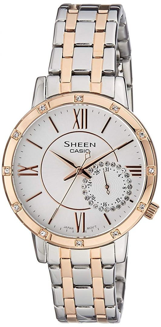 641647ab524c reloj de mujer casio Sheen SHE-3046SGP-7BUER
